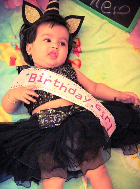Birthday Girl Baby Sashe