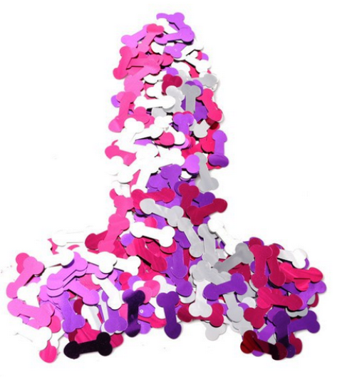 Bachelorette Confetti Decoration