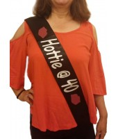 40th Birthday Sash