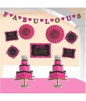 Fabulous Bday room Decorating Kit ( 10pcs )