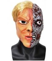 2 Face Batman Villain Halloween Mask - Premium Quality