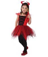 Pretty Devil Child Costume (8-10 Age)