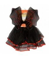 BLACK Wing & Skirt Set - Batgirl Halloween Costume( 2 -4Age)