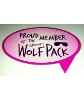 Proud Member of The Groom Wolf Pack