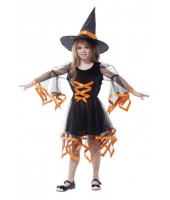 Moderns Witch Child Costume (3-5 Age)