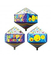 Rhombus Shape( Diamond Shape ) bday foil balloon 24''