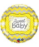 Sweet Baby Foil Balloon 18''