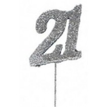 21st Birthday Cake Topper