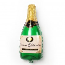 Champagne Supershape foil balloon 32''
