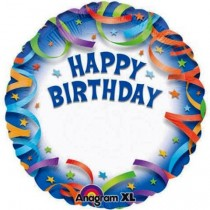 Happy Birthday Foil Balloon 18''