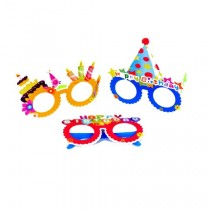 Kids Party Glasses (set of 3)