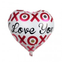 XOXO Love You Foil Balloon 18''