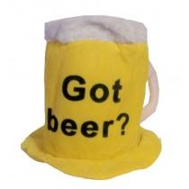 Beer mug hat