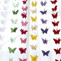 Butterfly String Paper Decoration