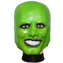 Jim Carry Green Halloween Mask - Premium Quality