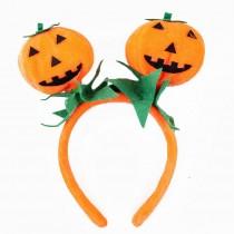 Evil Pumpkin Headband