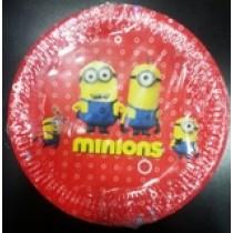 Minions Plates (set of 10)