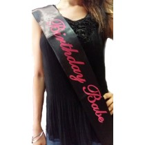 Birthday Babe Sash