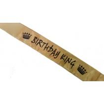 Birthday King Sash