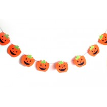 Felt Pumpkin String - Halloween Decoration