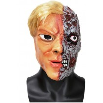 2 Face Batman Villain Halloween Mask - Premium Quality