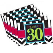 30th Napkin (set of 16pcs)