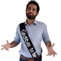 Groom To Be Sash