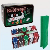 200 pcs poker set