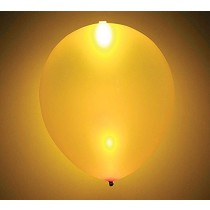 Gold LED Balloons (Pack of 5)