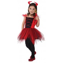 Pretty Devil Child Costume (8-10 Age)
