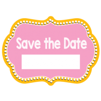 Save the Date Photo Booth Prop