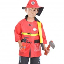 Fireman costume ( 3 to 7 years age)