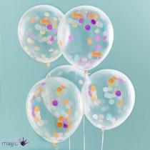 Confetti Balloon (set of 3) 18''