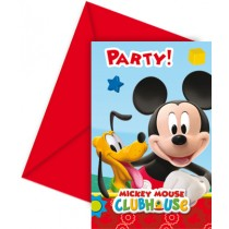 Mickey Invitation Cards (set of 6)