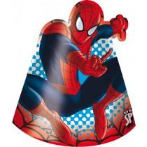 Spiderman Die-cut Hat (set of 6)