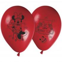 Minnie Printed Latex Balloons (set of 8)