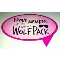 Proud Member of The Groom Wolf Pack