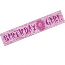 Birthday Girl Banner