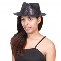 Fedora Glitter Hat (Set of 5)
