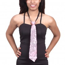 Sequence Cloth Ties - Pink