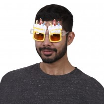 Yellow Beer Party glasses