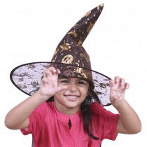 Witch Cap with Hair (child size)