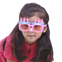 Pink Happy Birthday Kids Partyglasses