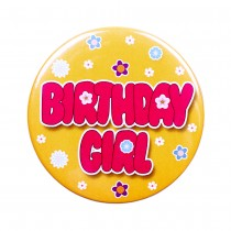 Birthday Girl Birthday Badge