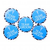 Team Groom Badge(set of 5)