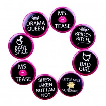 Friends Badges (Set of 8)