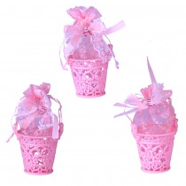 Pink Baby Buckets (Set of 3)
