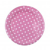 "Polka Plates 7"" ( set of 10)"