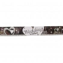 Wedding Wishes Banner
