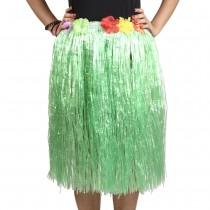 Green Straw Hula Skirt Medium
